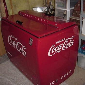 Coca Cola Cooler/Chest