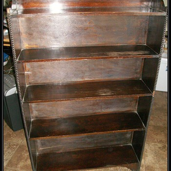 Dark Wood Bookcase - Furniture