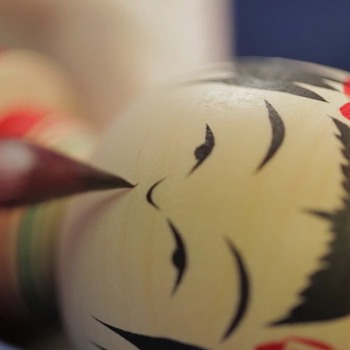 A Look at the Noruko Method of Kokeshi Doll-making.