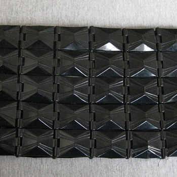 Late 30's-1940's plastic link clutch - Accessories