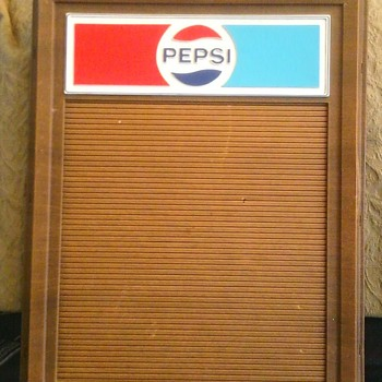 Pepsi 'Menu Boards'