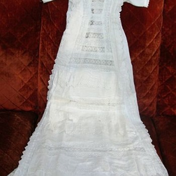 My Great Great Grandmothers Christening Dress - Victorian Era