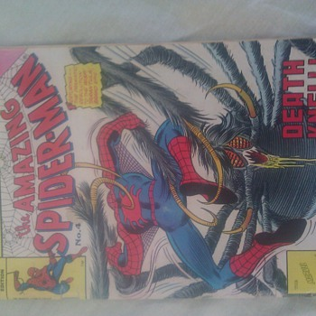 I have this no 4 issue of ( the amazing spiderman )