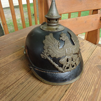 WWI German Helmet - Military and Wartime