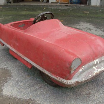 Old Pedal Car