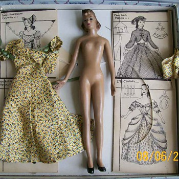 Manikin doll 1940's  - Dolls