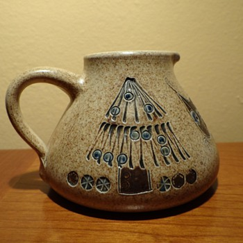 HEINZ-THEO DIETZ , KOENIGSWINTER -W.GERMANY POTTERY 