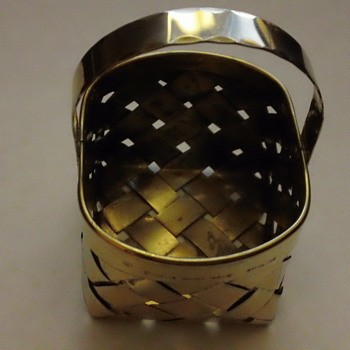Cartier Sterling Silver Ring Basket