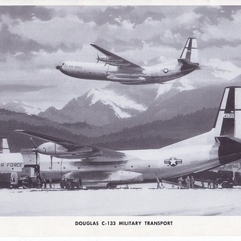 Douglas C-133 Cargomaster Douglas Aircraft Photo Series - Advertising