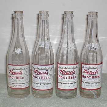Howel&#039;s Root Beer Bottles