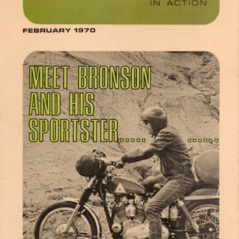 1970 - Motorcycle Enthusiast - Harley-Davidson Periodical