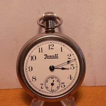 Rexall- United Drug Store Pocket Watch.... Circa 1909-10
