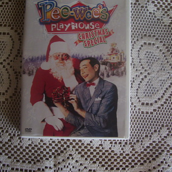 PEE-WEE'S PLAYHOUSE CHRISTMAS SPECIAL FIRST ISSUED DVD 2004(NEW & SEALED)