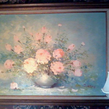 Mid Century Floral  - Visual Art