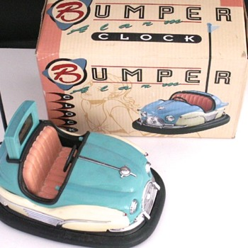Bumper Car Alarm Clock