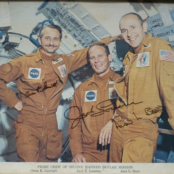 Astronauts autographs