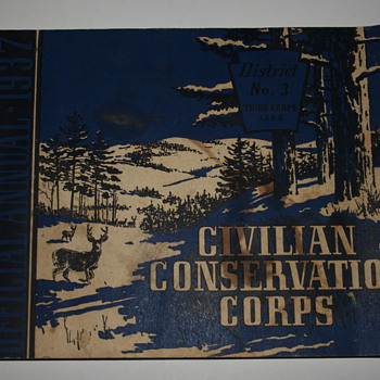 1937 Civilian Conservation Corps Book - Books
