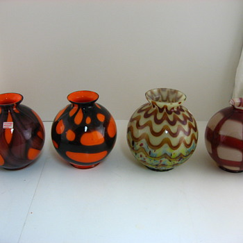 Some more pieces of Kralik - Art Glass