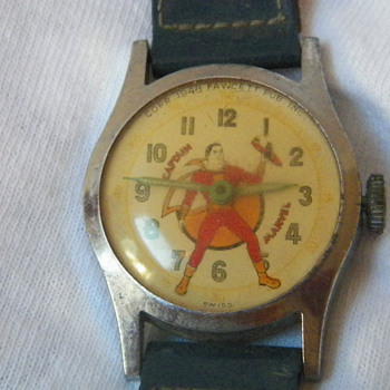 1948 Captain Marvel Wristwatch - Wristwatches