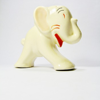 ART DECO ELEPHANT  PLANTER