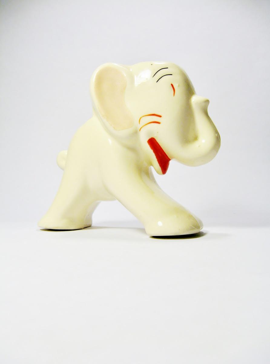 art deco elephant planter collectors weekly. Black Bedroom Furniture Sets. Home Design Ideas