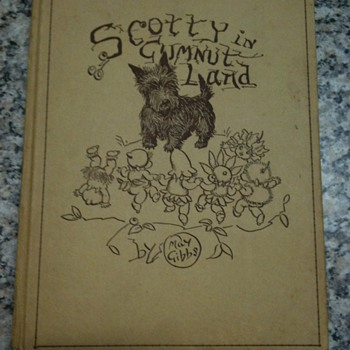 Scotty in Gumnut Land .  Unusual fault - 1st edition 1941