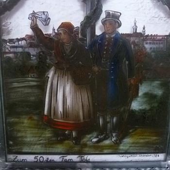 Verlorene Heimat - Zum 50sten Fam. Tolg - Art Glass