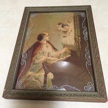 Vintage Saint Cecilia Print