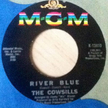 The Cowsills 45 Record - Records