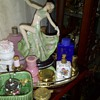 Art Deco Dancer an perfume bottles