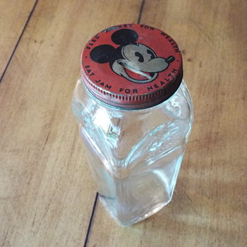 Mickey Mouse Jam Jar Bank
