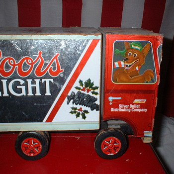 Coors Delivery Truck - Advertising