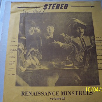 Renaissace Minstrels volume II/ Beatles  - Music Memorabilia