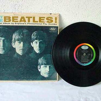 Meet THE BEATLES! The First Album by England's Phenomenal Pop Combo - Records