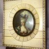 Antique Miniature Ivory Handpainted Painting Signed
