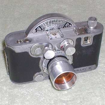 1945 - Mercury II 35mm Camera - Cameras