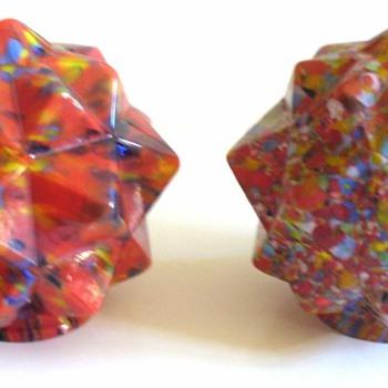 CZECH DECO SHADES, FRANKART AND RUCKL - Art Glass