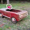 Vintage Mustang pedal car