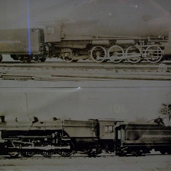 Pennsey and other railroad builder photos