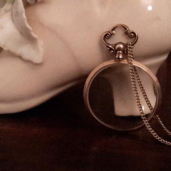 Antique  9ct gold photo locket - Fine Jewelry
