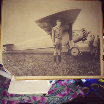 my Charles Augustus Lindbergh photo