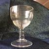 Thrift shop cordial glass