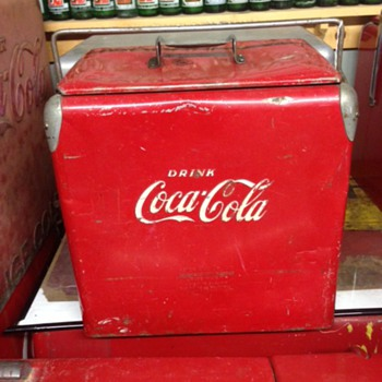 Acton Coca Cola Cooler