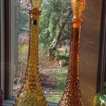 Amber Genie Bottles