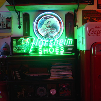 Florsheim Shoes...Neon Sign