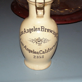 German Villeroy/Boch Stein made for Los Angeles Brewing Company - Breweriana