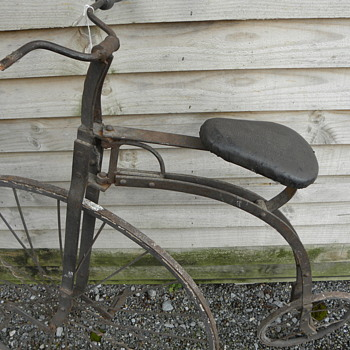 Children's Velocipede c1870s ? - Sporting Goods