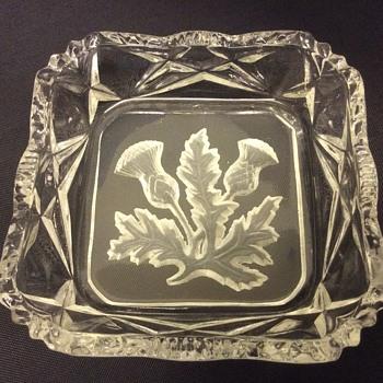 Glass sq dish