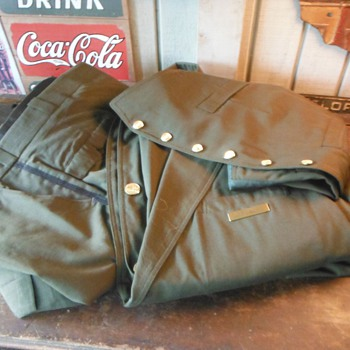 Vintage Chicago & North Western Railroad C&NW Conductor Uniform Coat-Vest-Pants - Railroadiana