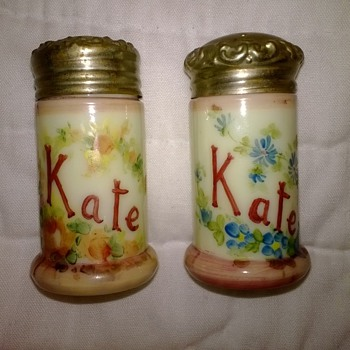 Personalized Shakers - Art Glass